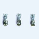 pineapple trio by Ingrid Beddoes
