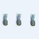 pineapple trio by Ingrid Beddoes