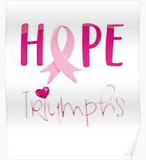 Hope Triumphs Breast Cancer Survivors Day 2017 Poster
