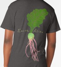 Earth Alien Watermelon Radish Long T-Shirt
