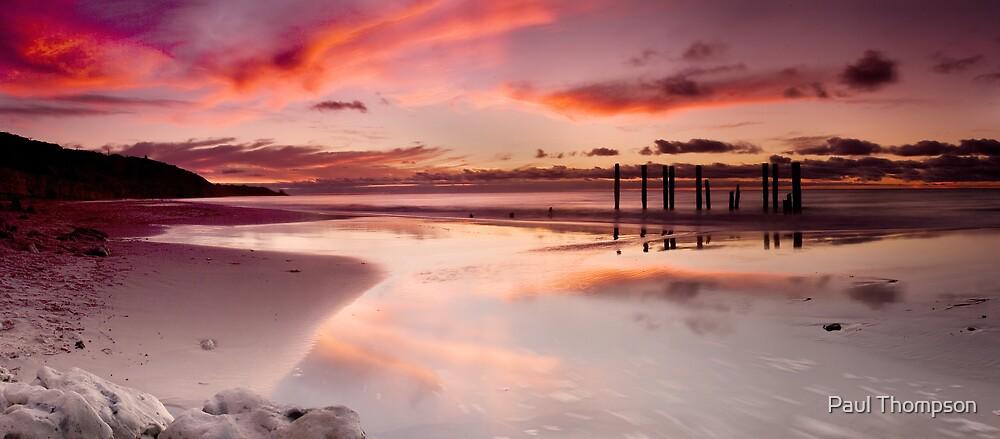Willunga Sunset panorama by Paul Thompson
