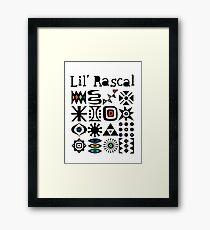 Lil' Rascal Framed Print