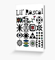 Lil' Rascal Greeting Card