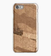 Macro photo of an iron meteorite iPhone Case/Skin