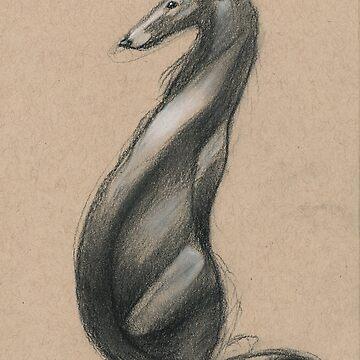 Swirly Sighthound 1 by CricketWings