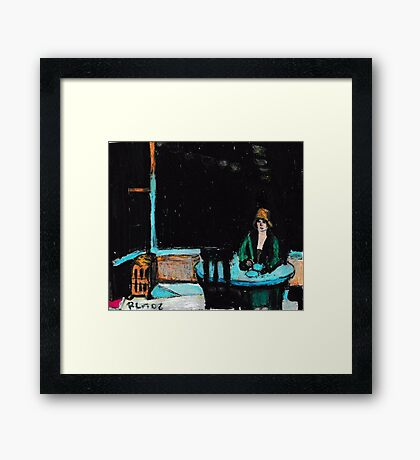 The Automat Framed Print