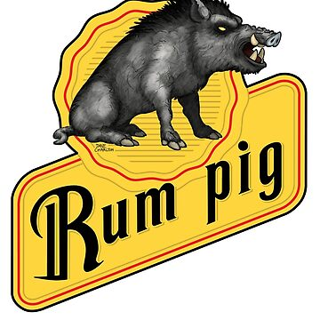 Rum Pig by davecharlton