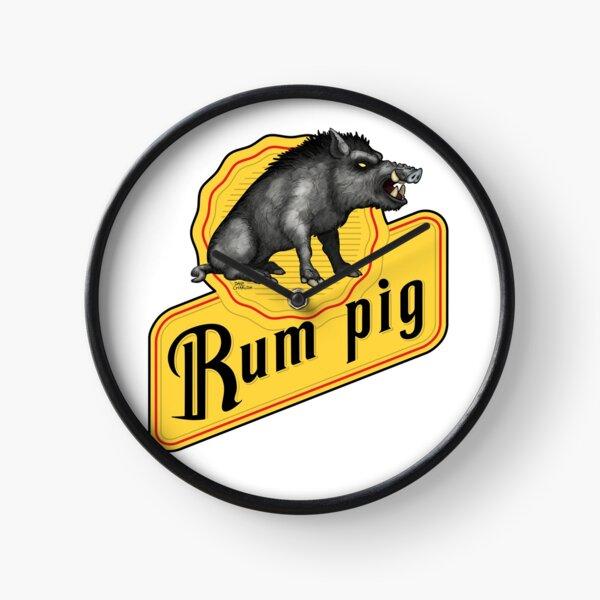 Rum Pig Clock