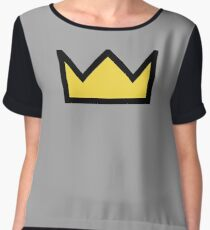 Riverdale - Bughead, Betty Cooper Crown  Chiffon Top