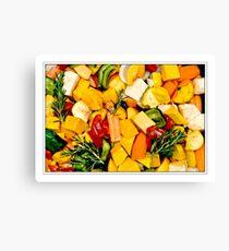 Raw Veggies Canvas Print