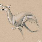 Swirly Sighthound 6 by Ashley Siemon