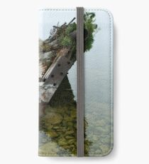 Tobermory shipwreck iPhone Wallet/Case/Skin