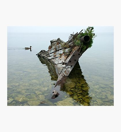 Tobermory shipwreck Photographic Print