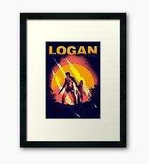 LOGAN Framed Print