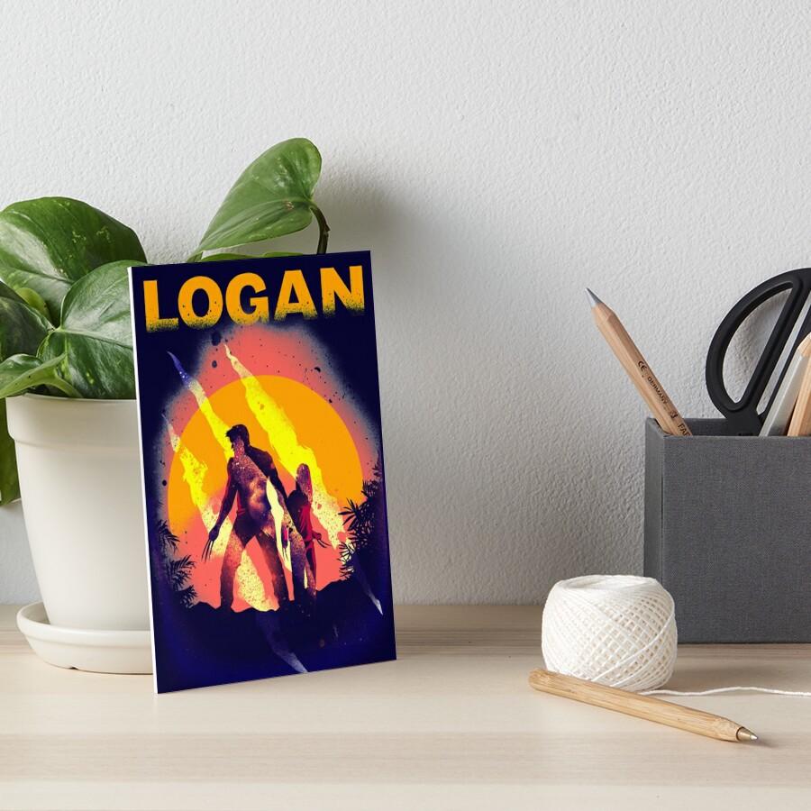 LOGAN Art Board Print