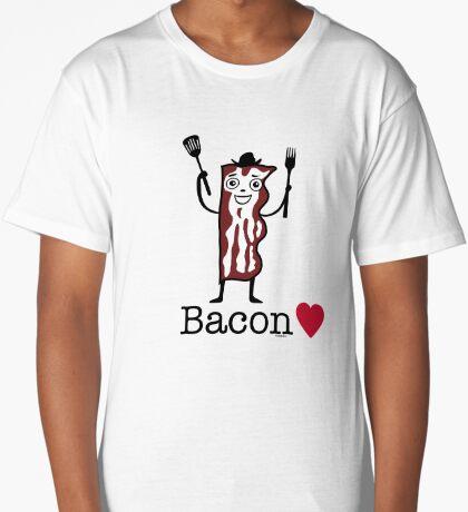 I love bacon Long T-Shirt