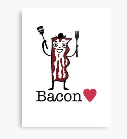 I love bacon Metal Print