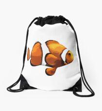 Clown fish Drawstring Bag