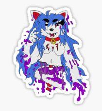 Slush Puppy Sticker