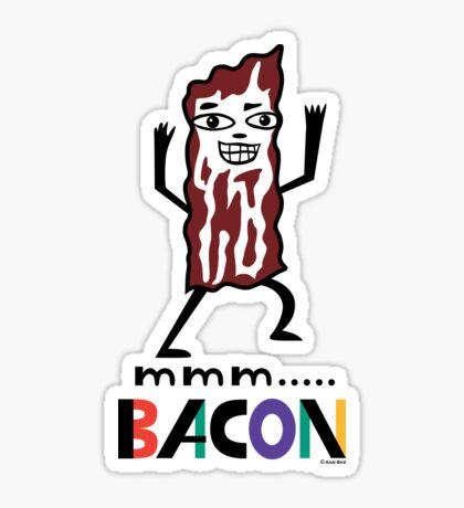 mmm Bacon Sticker