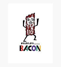 mmm Bacon Photographic Print
