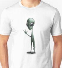 Left-Right : The Mansion  // The Alien Unisex T-Shirt