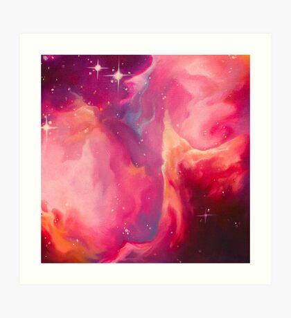 Nebula - I Am Art Print