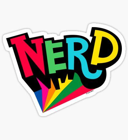 Nerd Spotlight Sticker