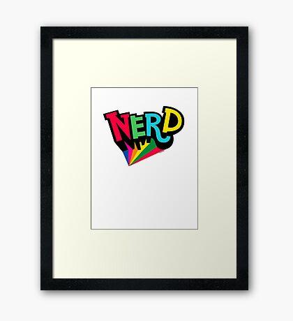 Nerd Spotlight Framed Print