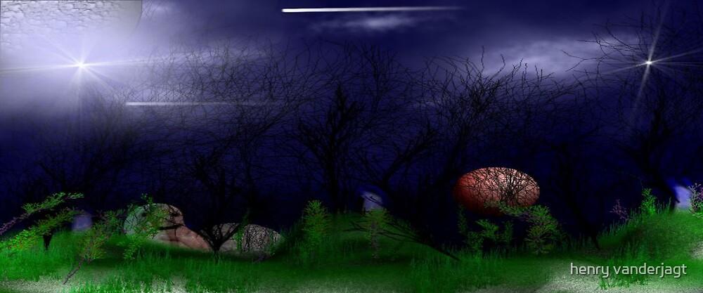"""""""ONE DARK HOLLOWEEN NIGHT""""  """"LONG"""" by Henry VanderJagt"""