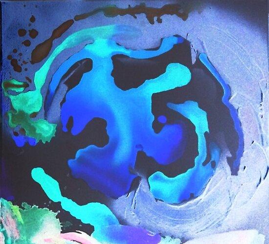 Schwimmen Sie mit den Meerjungfrauen im Großen Natürlichen Tiefblauen Meer von ANoelleJay