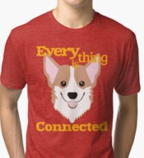 9a312def Everything is Connected Tri-blend T-Shirt