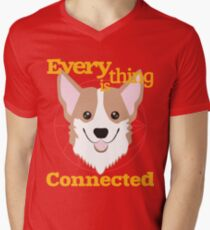 Everything is Connected Men's V-Neck T-Shirt