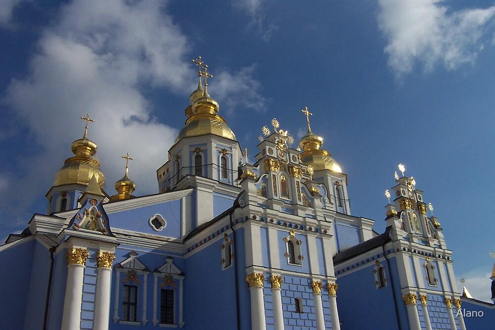 Church in Kiev by Alano