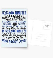 Messen Sie in der Liebe Postkarten