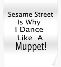 The Muppet Dance Poster