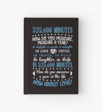 How Do You Measure A Year In Life? Hardcover Journal