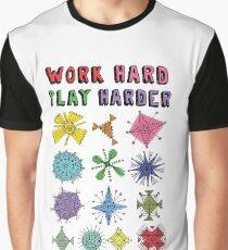 Work Hard Play Harder Graphic T-Shirt