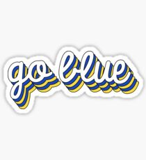 Go Blue Chill Sticker