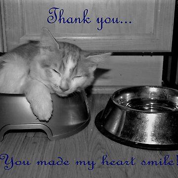 Thank You Card by kuaile