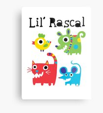 Lil' Rascal Critters Metal Print
