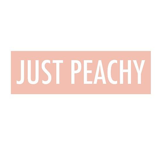 «Just Peachy» de leaamaarie