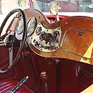 MG Interior by Chet  King