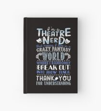 Theater-Sonderling-lustiges Geschenk für Theaterliebhaber Notizbuch