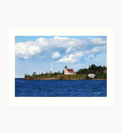 Copper Harbor Lighthouse Art Print