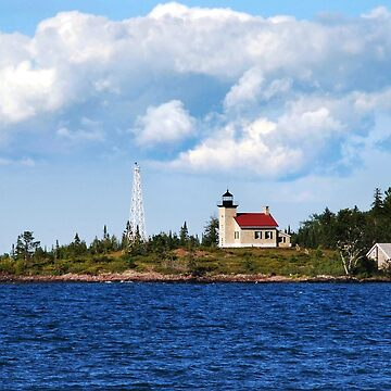 Copper Harbor Lighthouse by rollosphotos