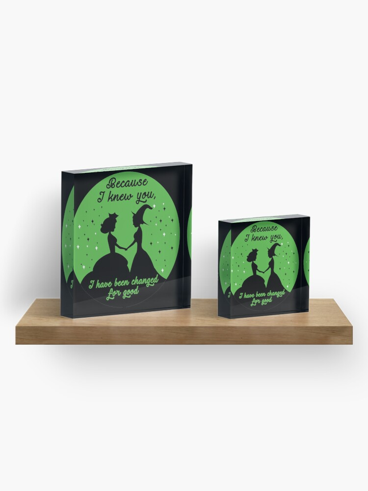 Alternate view of Theatre Lover Gift Acrylic Block