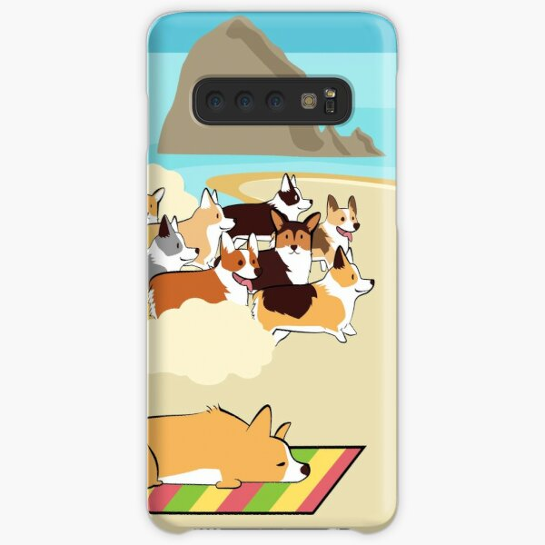 2017 - Corgi Storm - Phone Case Samsung Galaxy Snap Case