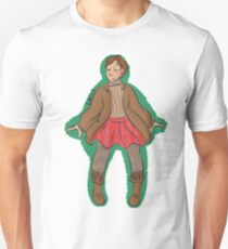 Hal in a skirt Unisex T-Shirt
