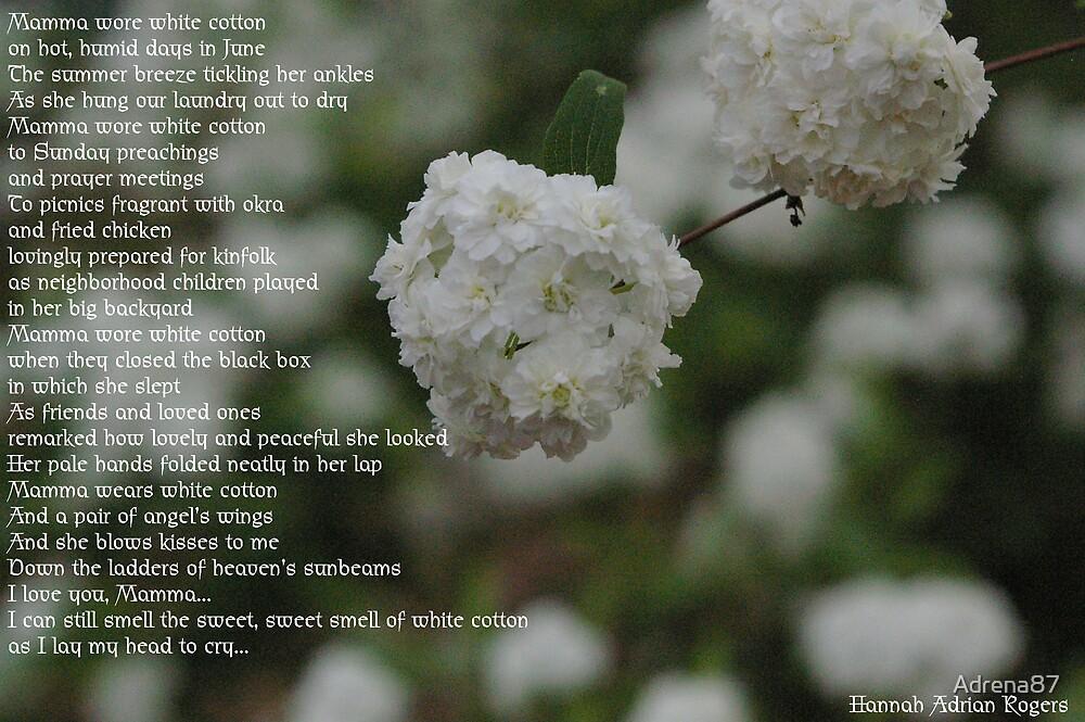 Mamma Wore White Cotton by Adrena87